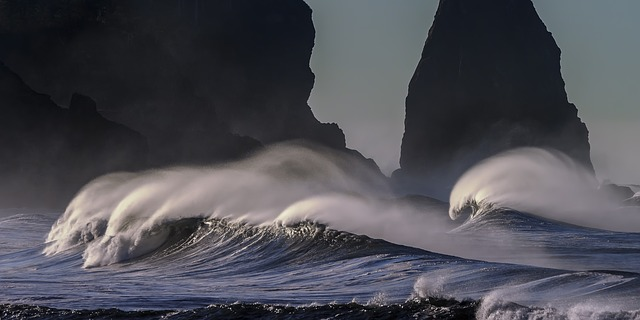 vlny moře