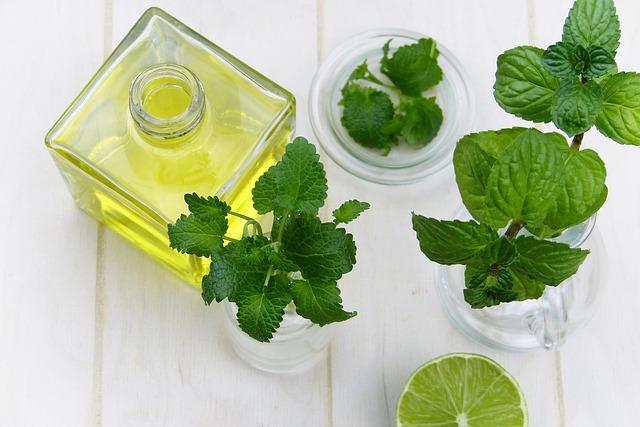 olejíček s bylinkami