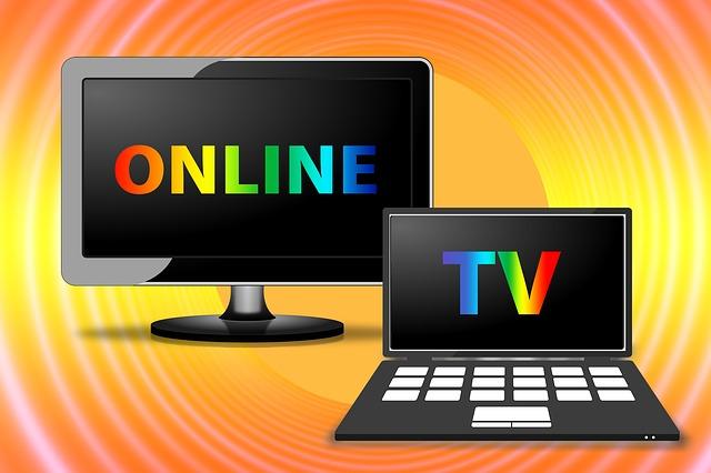 obrazovky kdy je napsáno TV a online