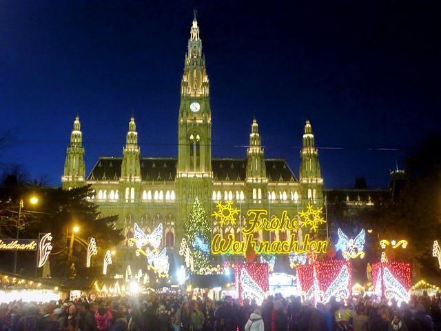 vánoční trh Vídeň