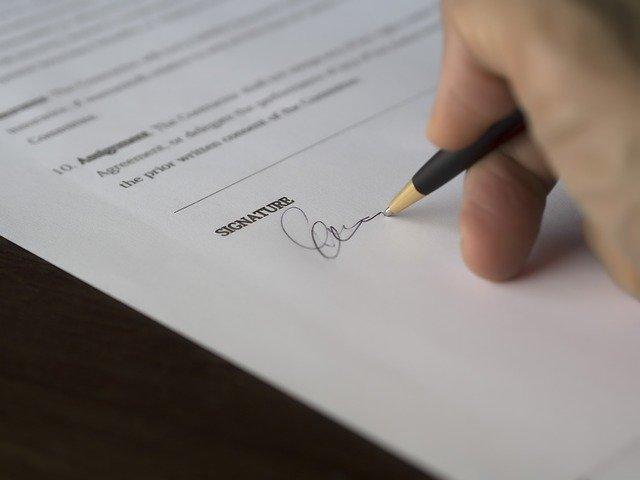 transparentní smlouva